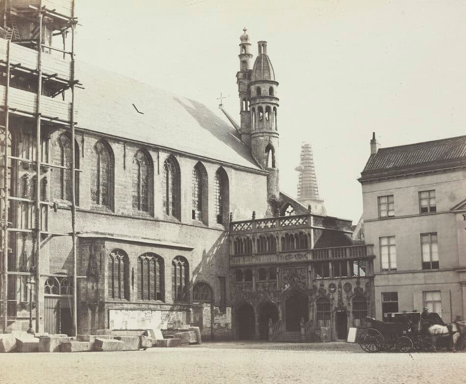 Church of Saint Sang, 1860s, by the Bisson brothers
