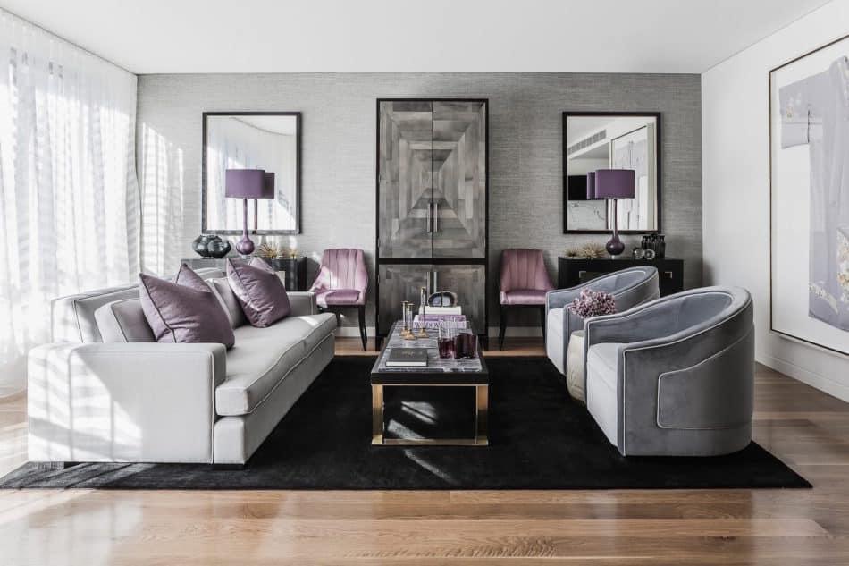Brendan Wong Design Living Room