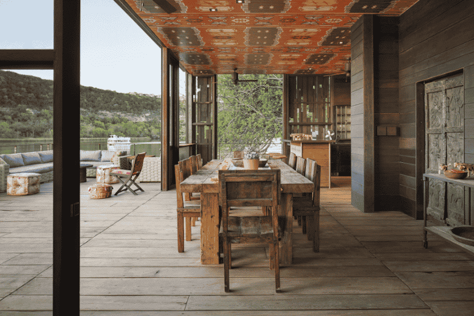 lake house dining by Andersson-Wise