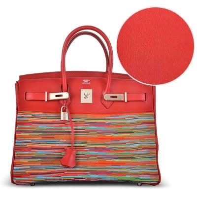 5d9685b6fdf Hermès Birkin Bag Leather  A Definitive Guide, from Crocodile to Chevre