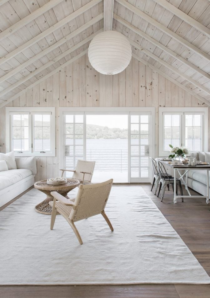Rattan Furniture Living Room Beach Houses