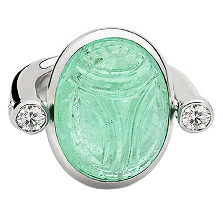 Colleen B. Rosenblat Scarab ring