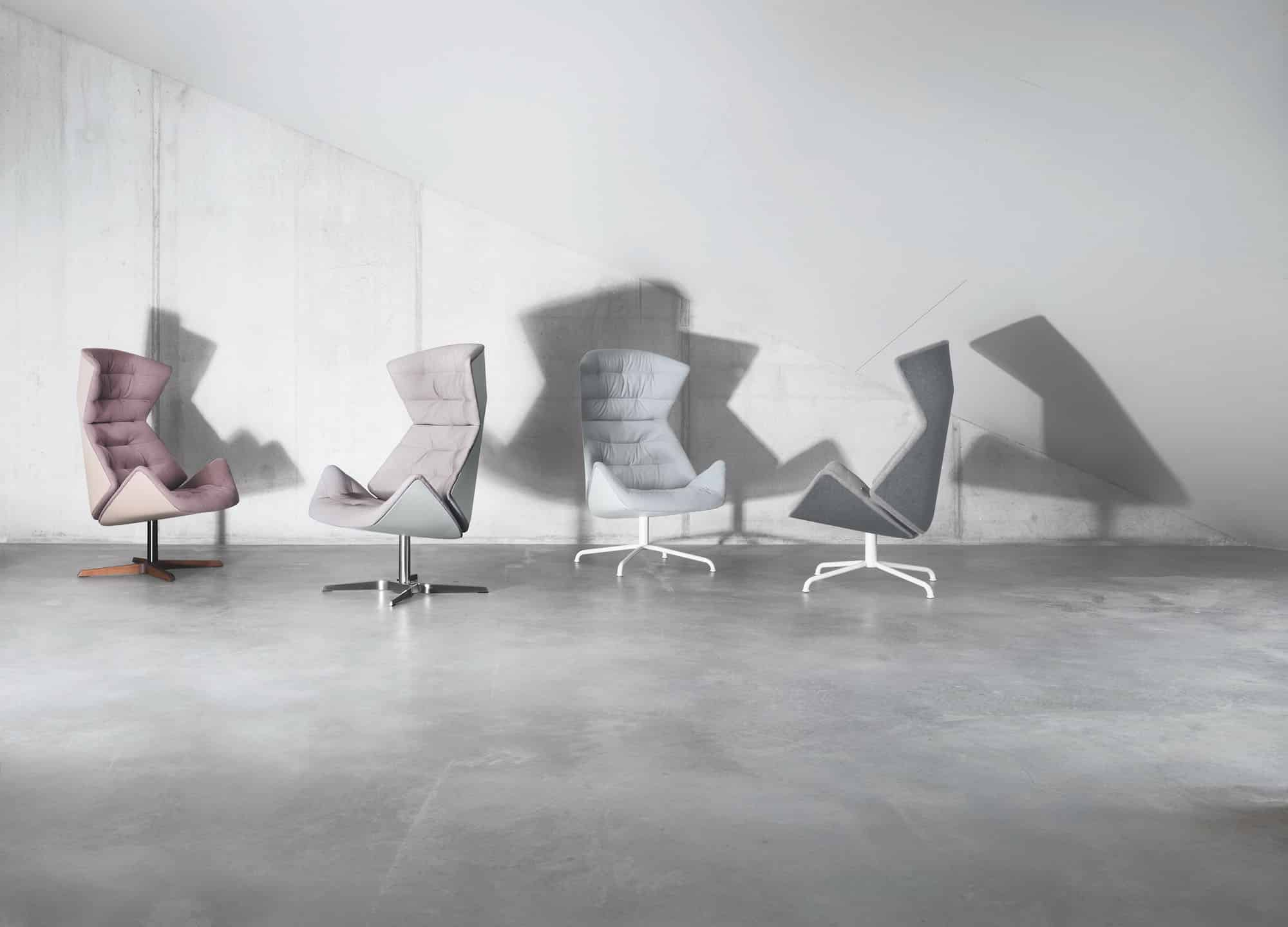 Formstelle's 808 chair for Thonet, 2014