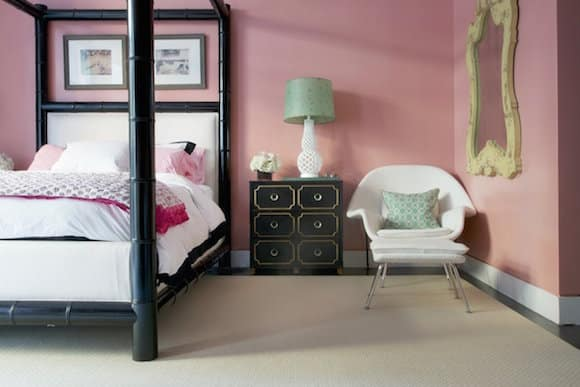 how to use pink in your home