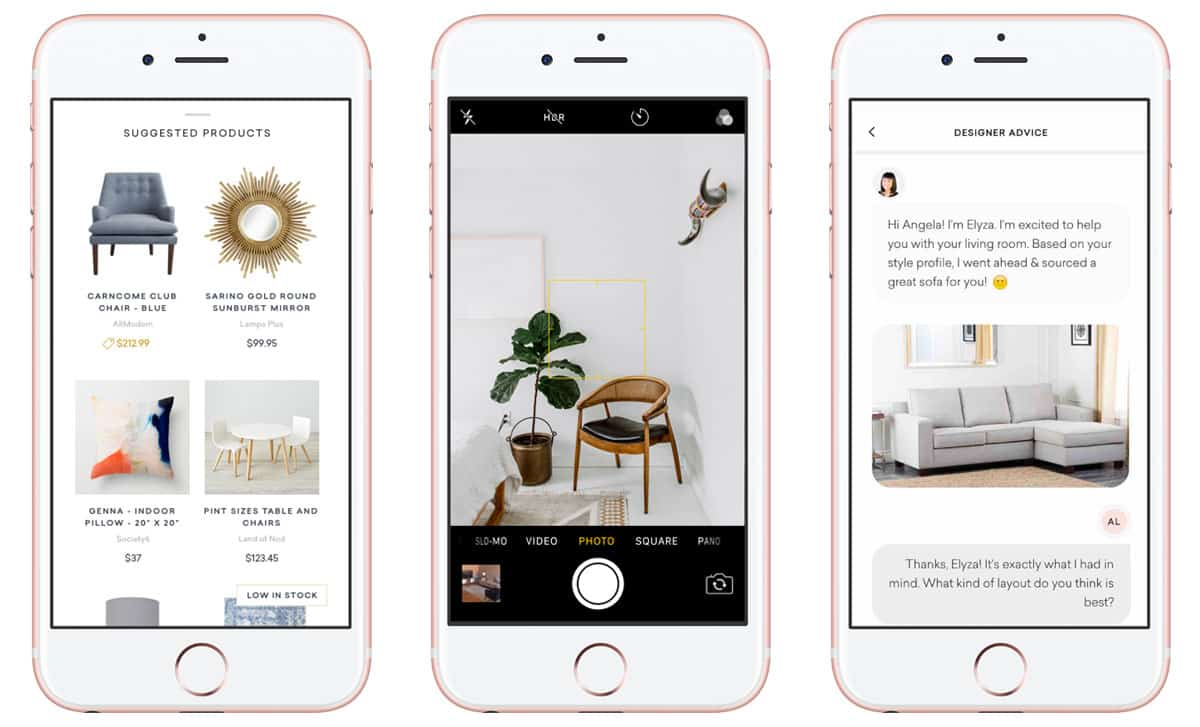 The App Creates A Collaborative Environment Where You Can Bat Your Home Renovation Ideas Around With Real Interior Designers