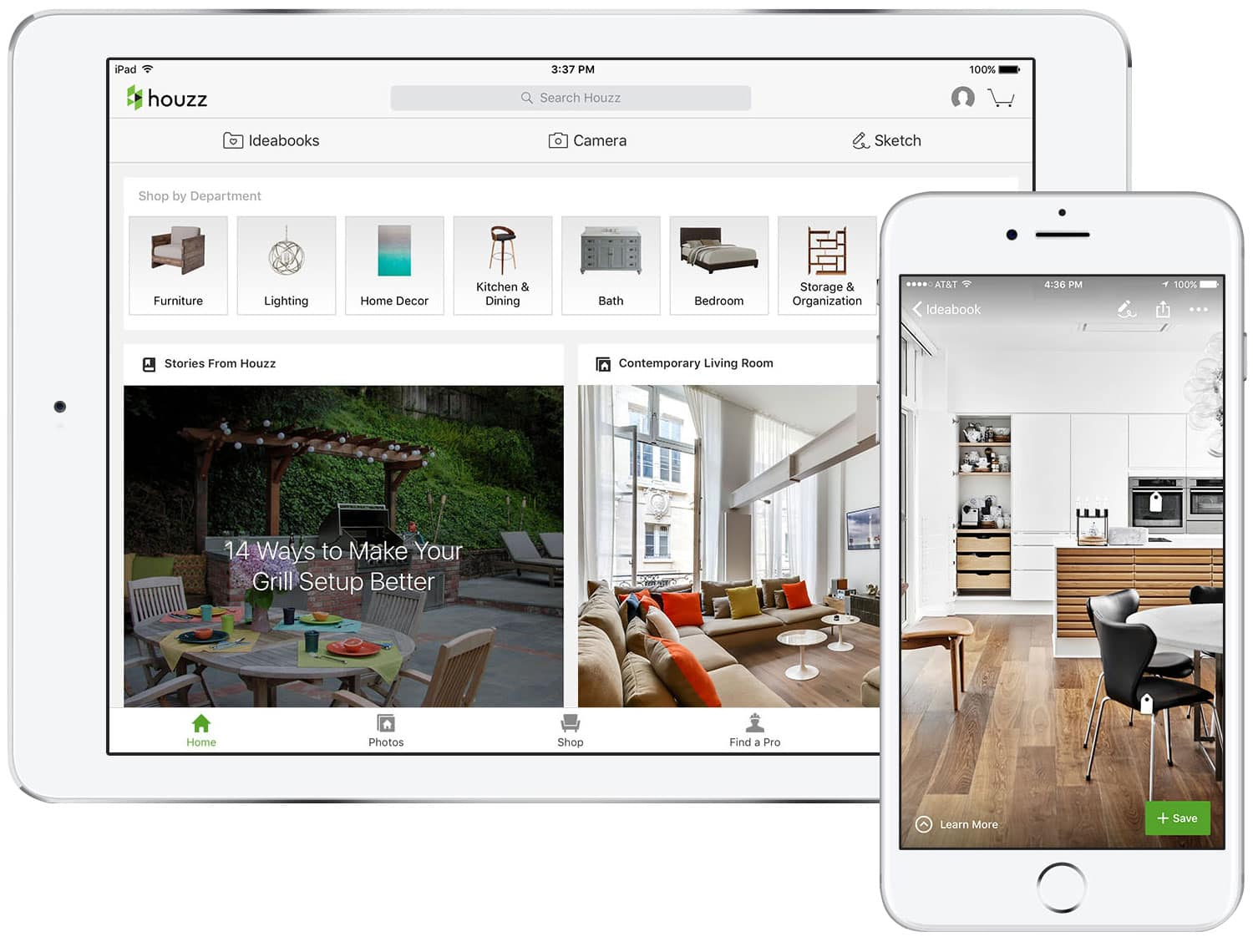 houzz is arguably the mother of all design apps cnn once called it the wikipedia of interior and exterior design its database contains more than 14 - Home Interior Apps