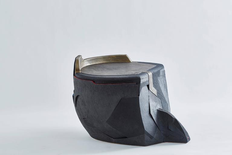 Andile Dyalvane Mud table/stool