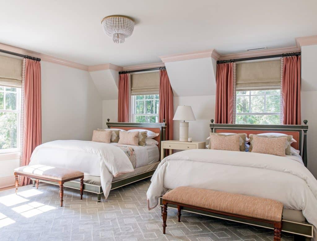 guest bedroom by Emily Tucker Design, Inc.