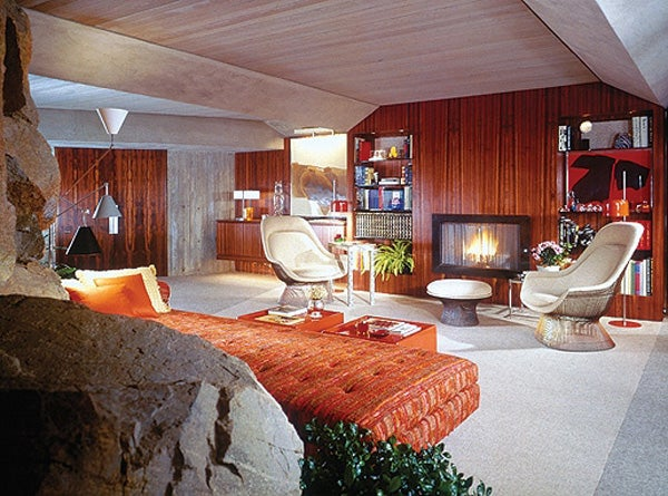 In Diamonds Are Forever, Bachelor Ne Plus Ultra James Bond Holes Up In  Architect John Lautneru0027s Midcentury Chic Elrod House.