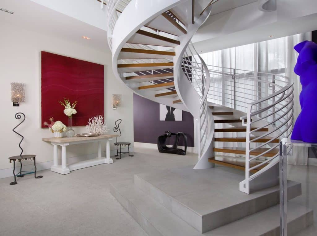 Foyer Architecture List : Spiral staircases that will make your head spin the study