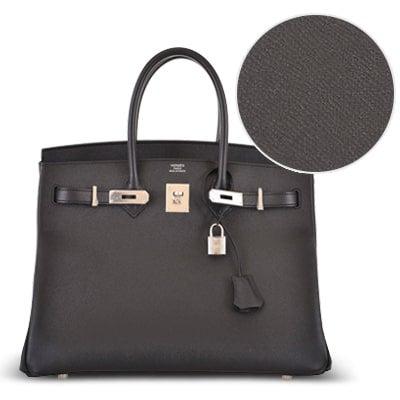 Hermès Birkin Bag Leather  A Definitive Guide, from Crocodile to Chevre ddbb3b427f