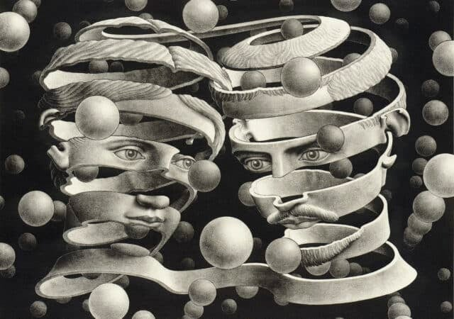 featured image for post: M.C. Escher's Infinitely Intriguing Art Gets the Hollywood Treatment