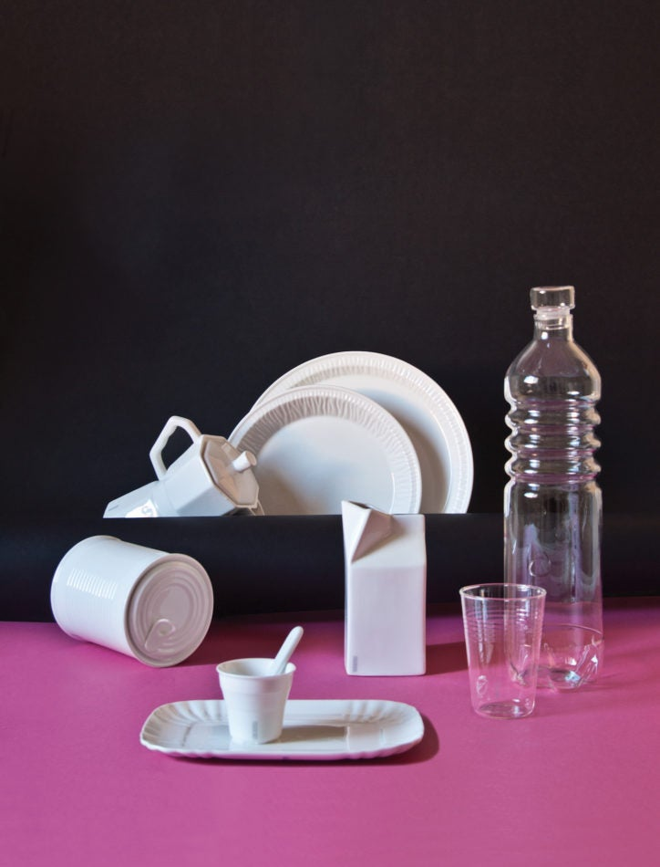 Seletti's Estetico Quotidiano tableware