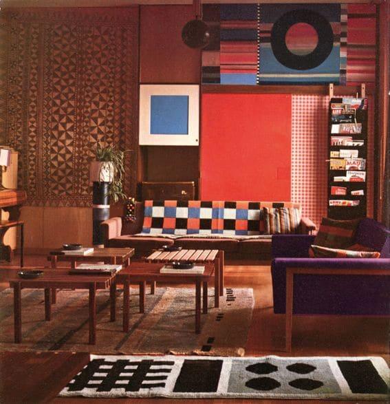 Design d'intérieur italien: explorez les plus belles maisons! Design d'intérieur Design d'intérieur italien: explorez les plus belles maisons! Ettore Sottsass Milan Apartment 1959 1stdibs