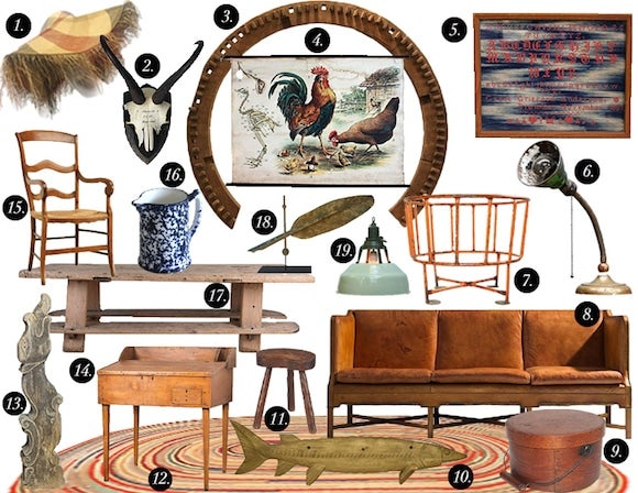 Farmhouse Style Mood Board