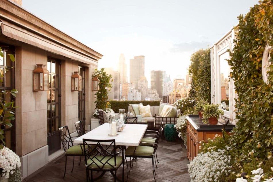 Manhattan patio by Brian J. McCarthy