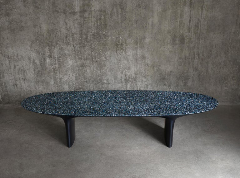 Black Flotsam bench by Brodie Neill