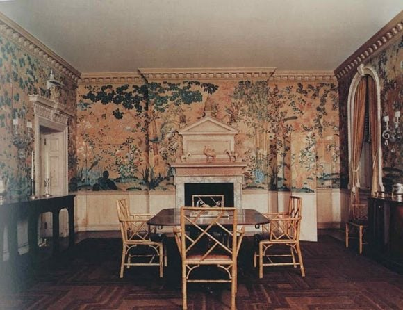 The dining room of the Reed House.