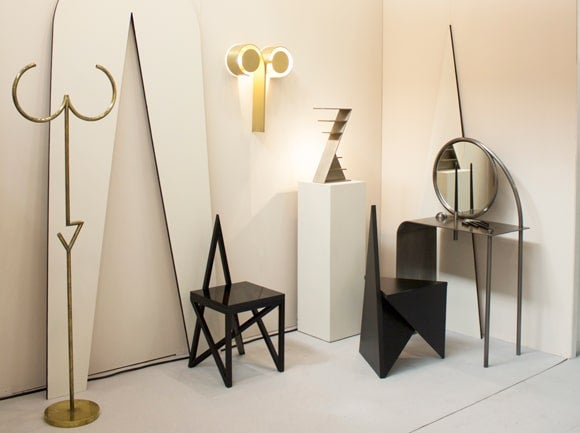 """Offerings from the pair's """"Geometry is God"""" collection."""