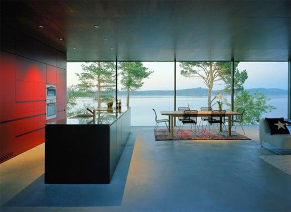 Scandinavian modern interior design for Modern house design norway