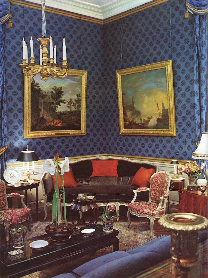 drawing room by Henri Samuel