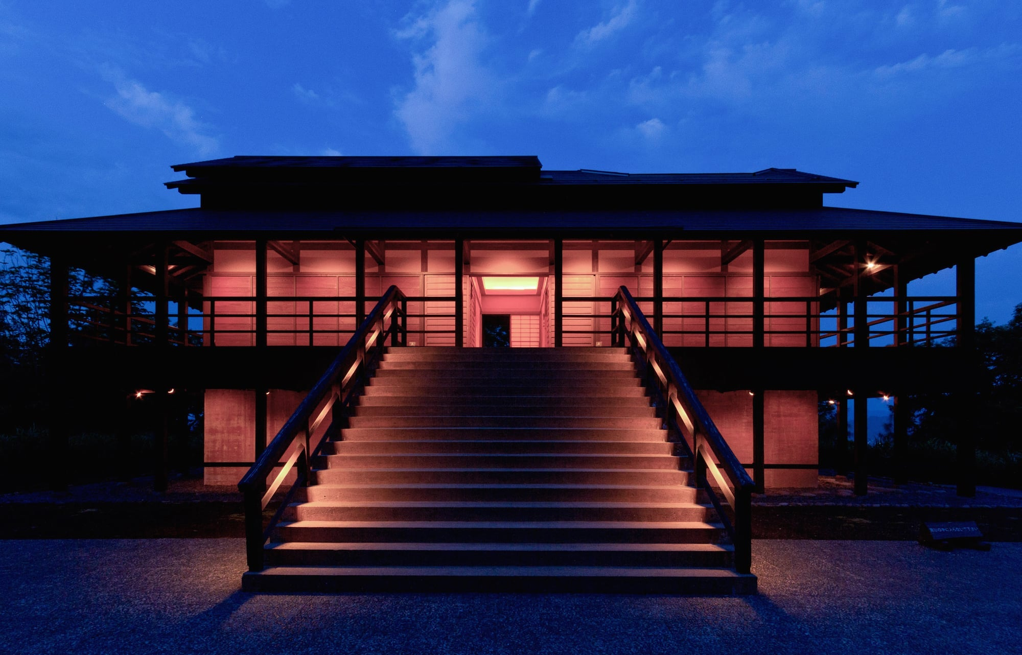 The House of Light in Niigata, Japan, has a Skyspace by James Turrell. Photo by Tsutomu Yamada