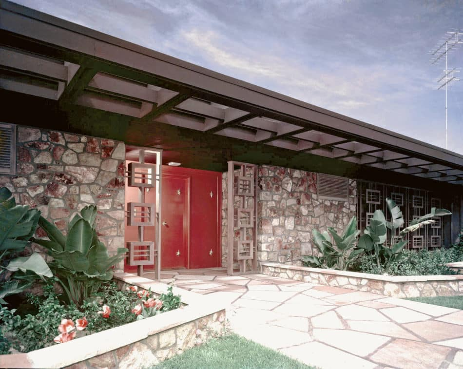 Lucille Ball and Desi Arnaz's Ranch Style Home