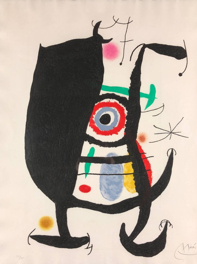 L'Inhibe, 1969, by Joan Miró