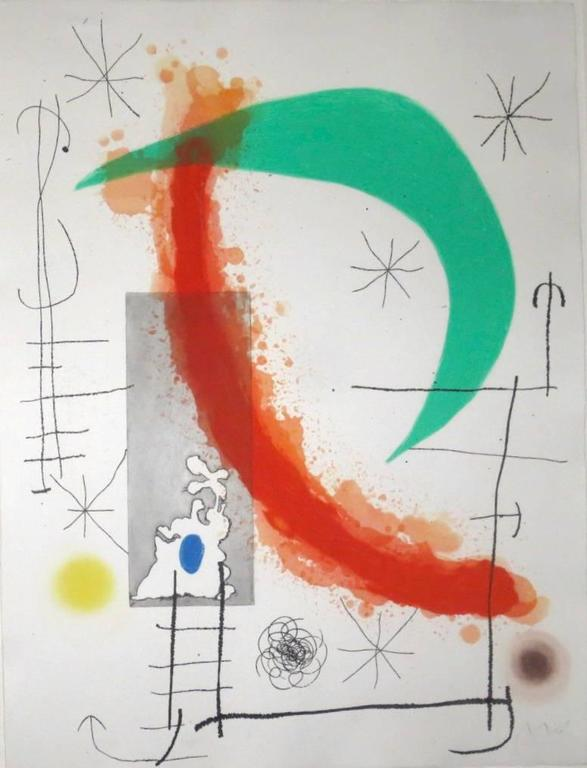 Escalade, 1969, by Joan Miró