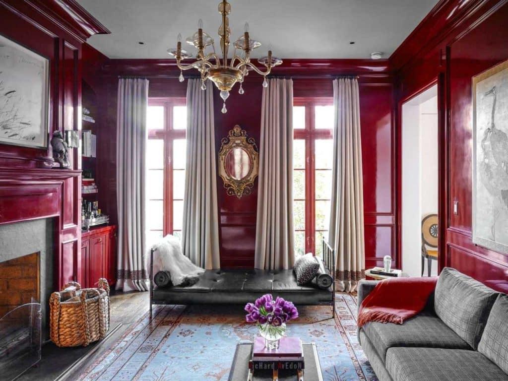 Barrie Benson living room