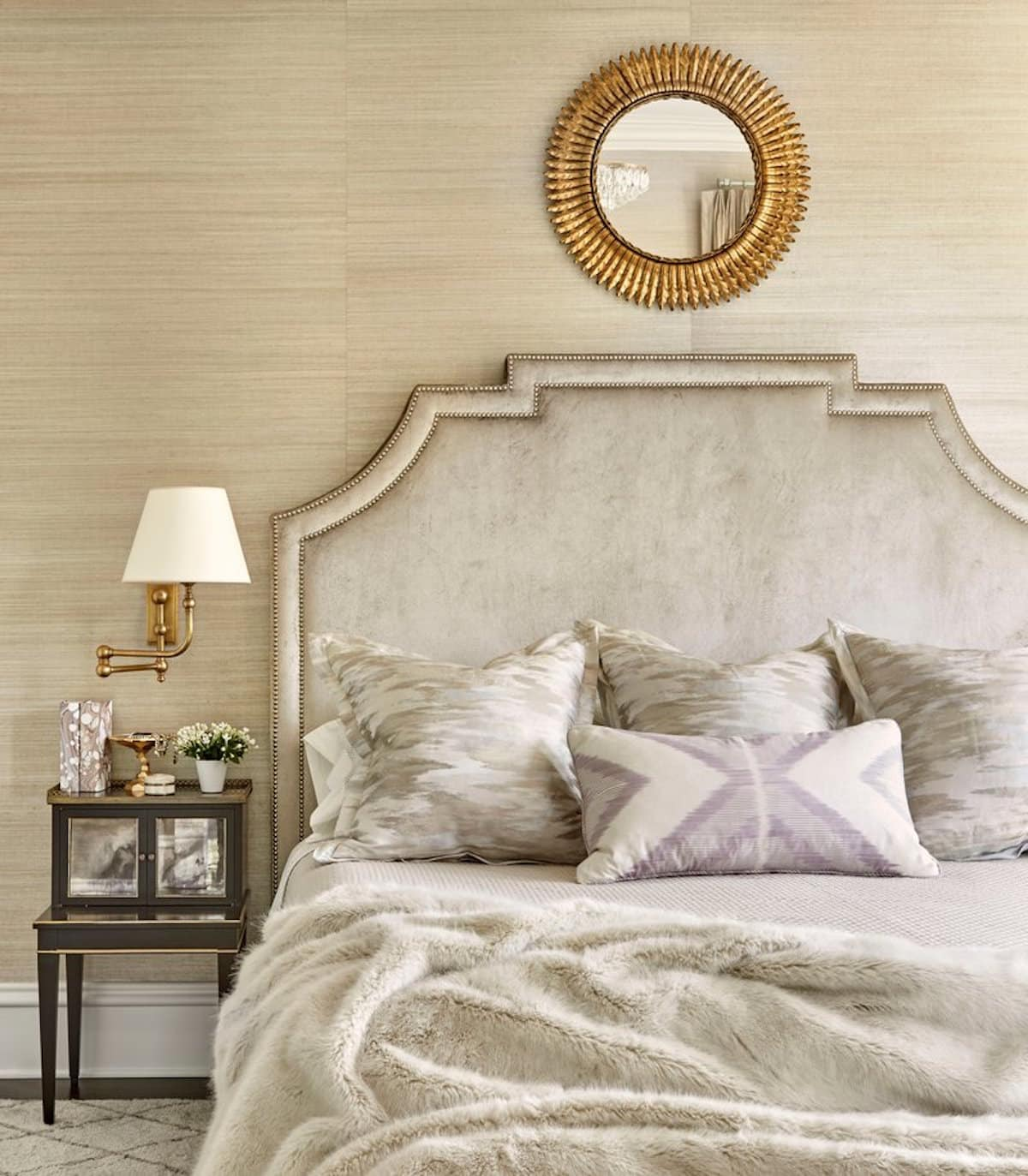 A Chicago bedroom by Summer Thornton.
