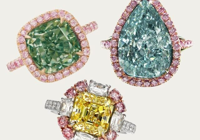 featured image for post: Our Guide to Fancy-Colored Diamond Engagement Rings