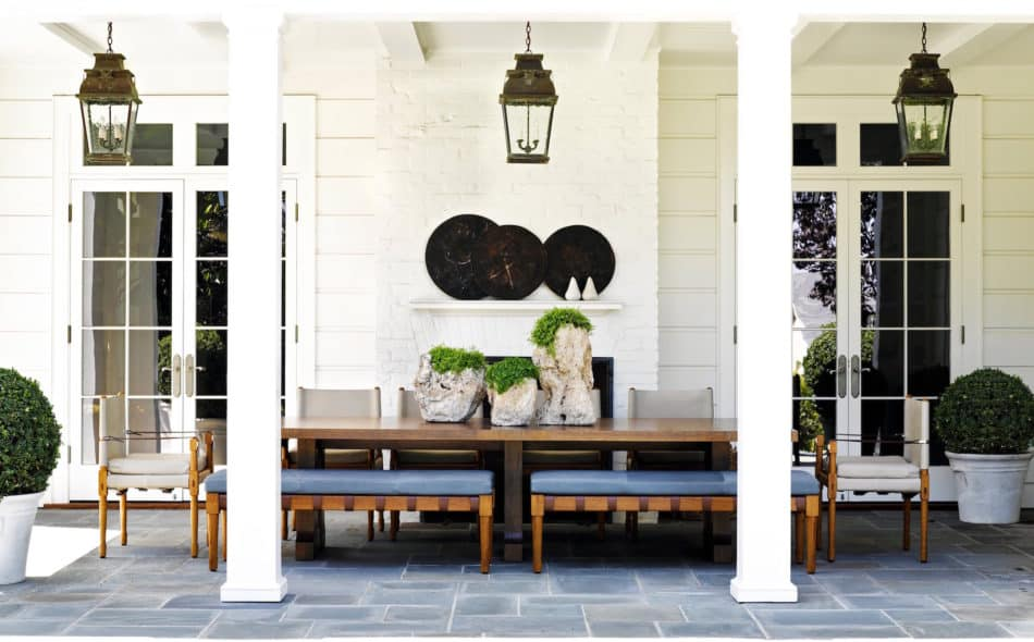 Pacific Palisades patio by Jeffrey Alan Marks