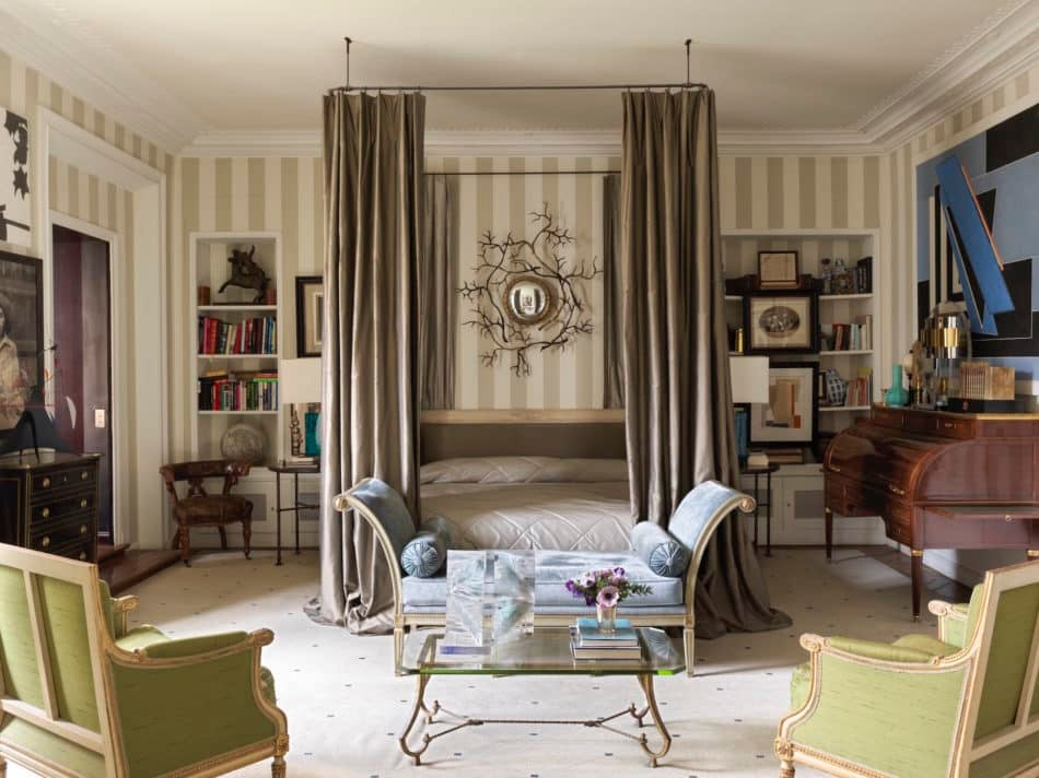Paris bedroom by Jamie Creel