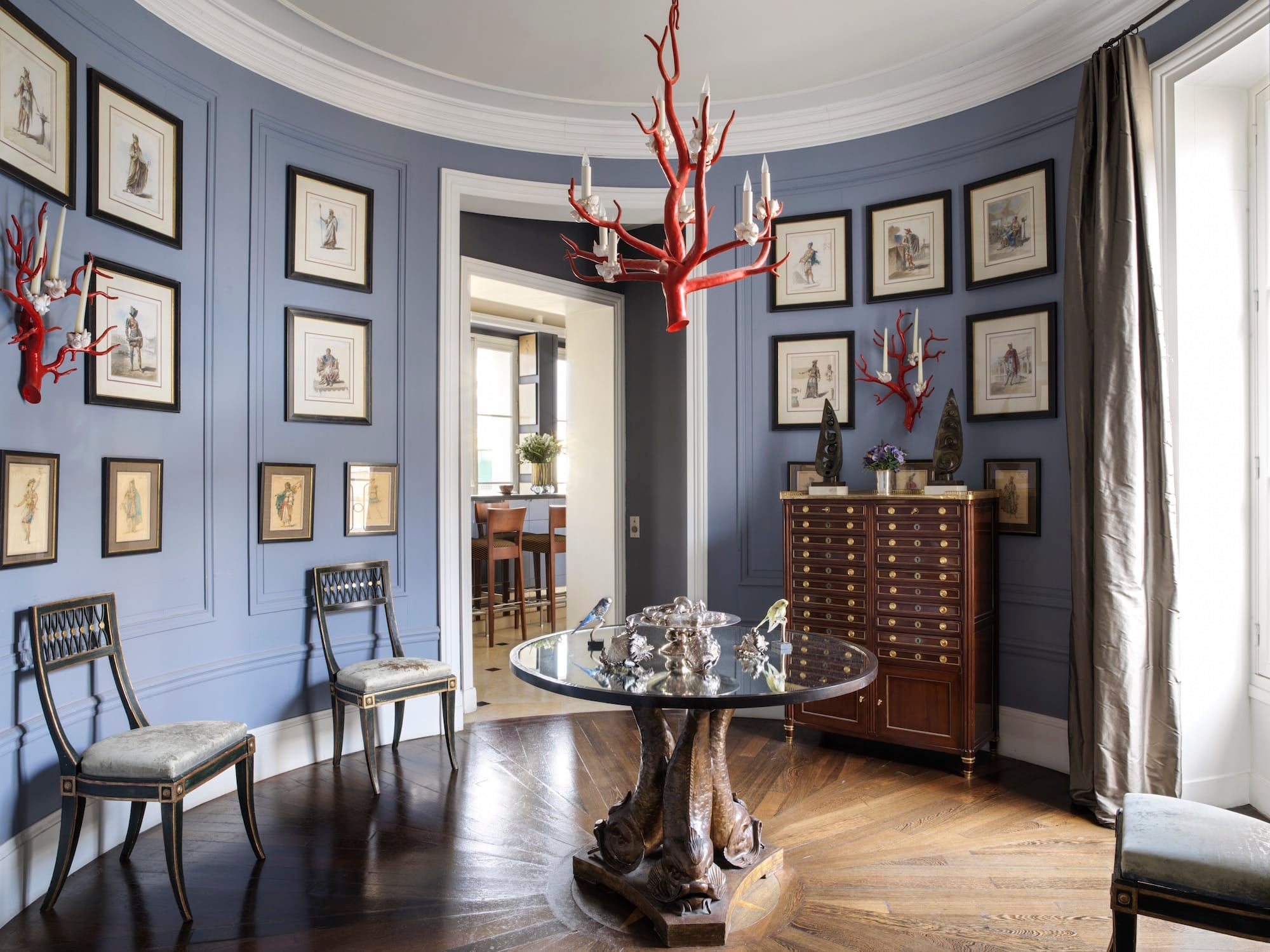 Jamie Cree's Paris foyer