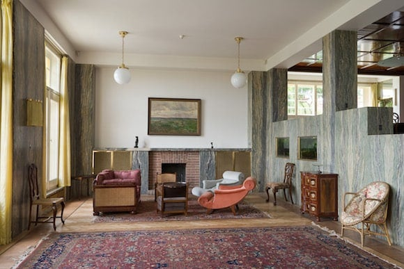 The Living Room Is The Heart Of Villa Müller. Also Called The Residential  Hall, The Expansive Space Is Reached Via A Short Staircase From The Foyer,  ...