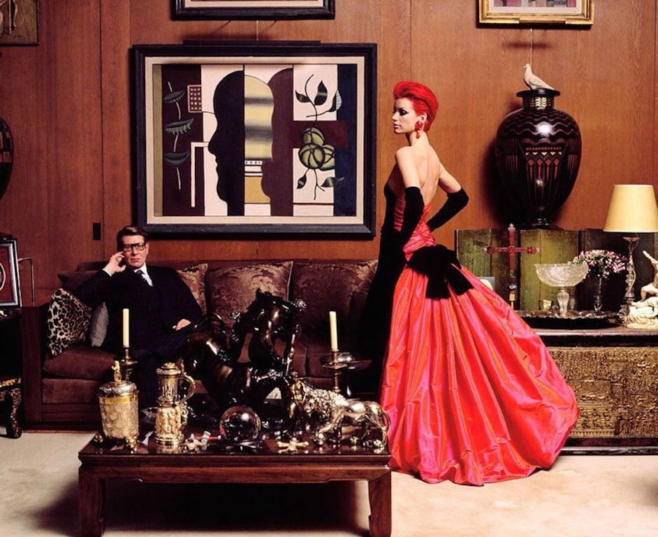 Fashionable Quiz Yves Saint Laurent The Study