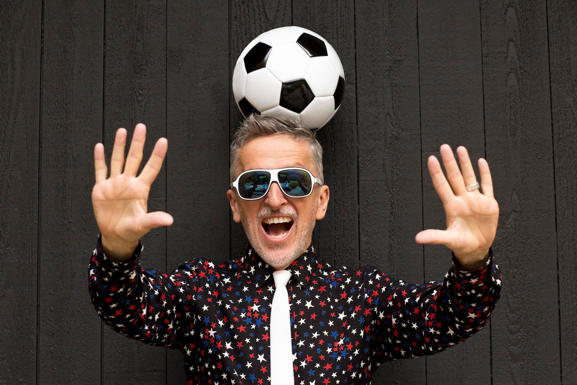 Simon Doonan's new book is called Soccer Style.