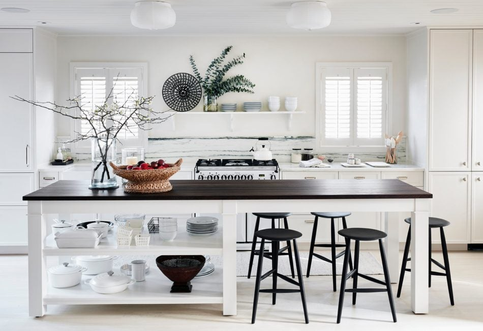 Kara Mann Nantucket kitchen