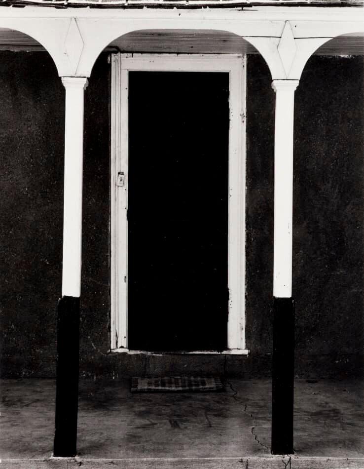 Gothic Doorway, 1953, by Dorothea Lange