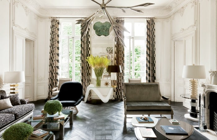 Chic Bohemian Interieur : Parisian interior design: 16 images of chic paris apartments & style