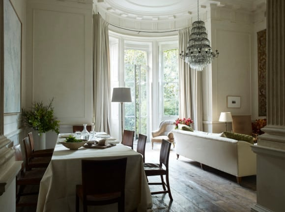 The Living And Dining Room Of Designer Rose Uniackes Own London Home