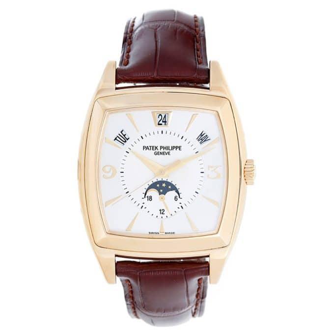 Patek Philippe Gondolo annular moon-phase wristwatch Ref 5135 J