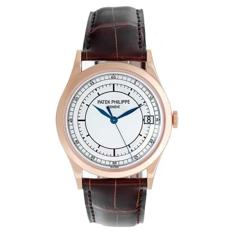 Patek Philippe Rose Gold Calatrava Automatic Wristwatch