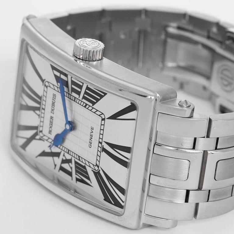 Limited-edition Roger Dubuis white gold automatic wristwatch, 21st century