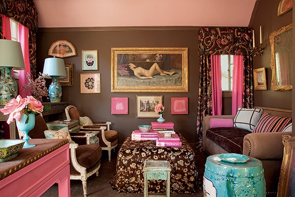 McDonaldu0027s Former Home Office Reveals Her Affection For The Color Pink.  Photo By Miguel Flores Vianna