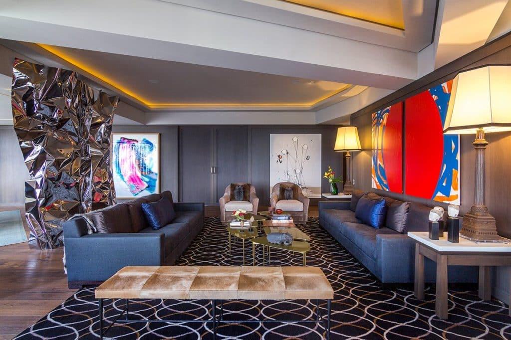 Mexico City living room by Sofia Aspe