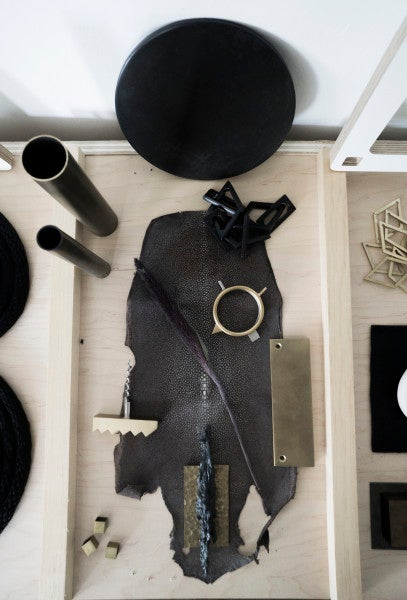 An up-close look at materials in the Material Lust studio.