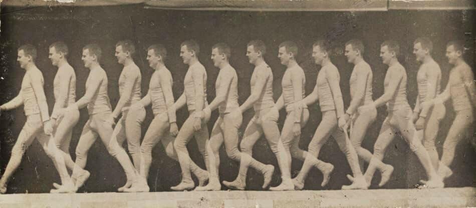 Man Walking, 1882, by Etienne-Jules Marey