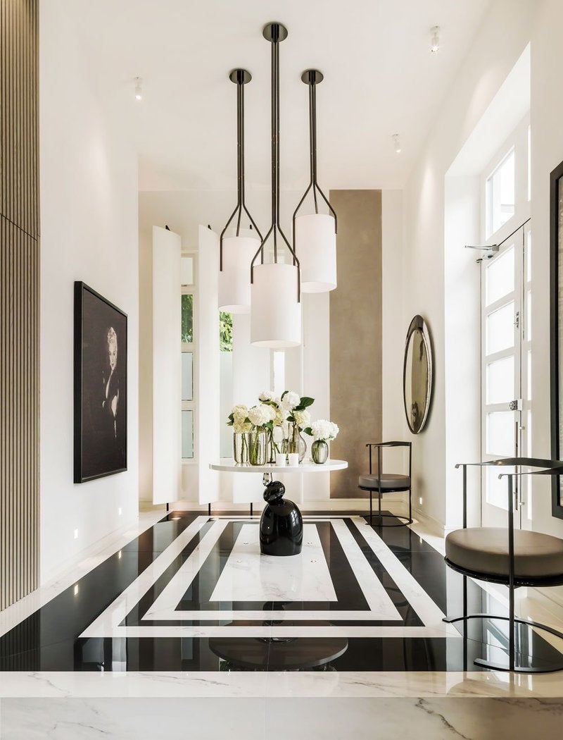 Modern Foyer Tile : Enchanting entryways and flawless foyers the study
